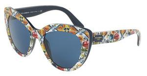 Dolce & Gabbana DG4287 307880 BLUEPRINT MAJOLICA ON BLUE