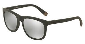 Dolce & Gabbana DG6102 30326G LIGHT GREY MIRROR SILVERMATTE DARK GREY