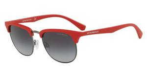 Emporio Armani EA4072 55928G GREY GRADIENTMATTE RED