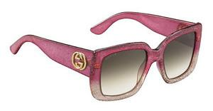 Gucci GG 3814/S RQR/JS BROWN SFGLTT PINK (BROWN SF)