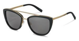 Jil Sander J1006 A polarized - grey - 84%black, gold