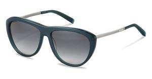 Jil Sander J3015 C sun protect - smokx grey gradient - 68%dark blue, silver