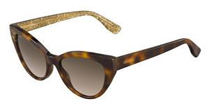 Jimmy Choo COSTY/S Q9W/J6 BROWN SFHVNBEIGLT