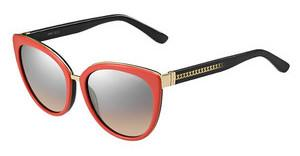 Jimmy Choo DANA/S 11Y/G4 BROWN MS SLVCORAL BLK