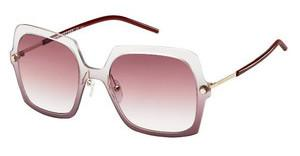 Marc Jacobs MARC 27/S TWC/FW BURGUNDY SHADEDBURGUNDY (BURGUNDY SHADED)