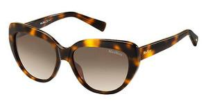 Max Mara MM SHADED II 05L/JD BROWN SFHAVANA (BROWN SF)