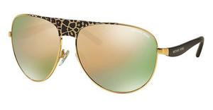 Michael Kors MK1006 1057R5 GOLD MIRRORBLACK GOLD LEOPARD/BLACK