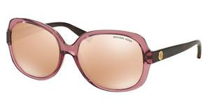 Michael Kors MK6017 3053R1 ROSE GOLD FLASHROSE TRANSPARENT TORTOISE