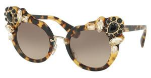 Miu Miu MU 04SS 7S03D0 BROWN GRADIENTLIGHT HAVANA
