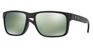 Oakley OO9102 910250 EMERALD IRIDIUM POLARIZEDMATTE BLACK