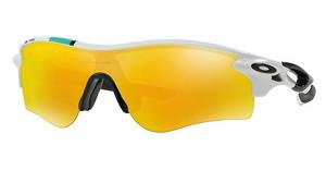 Oakley OO9181 918130 FIRE IRIDIUM & BLACK IRIDIUMPOLISHED WHITE