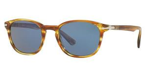 Persol PO3148S 904356 BLUESTRIPED BROWN YELLOW