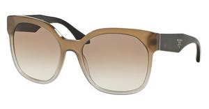 Prada PR 10RS UBJ1L0 BROWN GRADIENTGREY GRADIENT