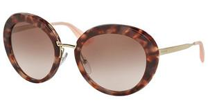 Prada PR 16QS UE00A6 BROWN GRADIENT PINKSPOTTED BROWN PINK
