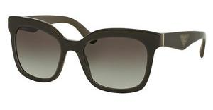 Prada PR 24QS UAM0A7 LIGHT GREY GRADIENT DARK GREYOPAL BROWN ON BROWN