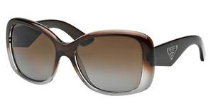 Prada PR 32PS PDM6E1 POLAR BROWN GRADIENTBROWN GRADIENT GRAY