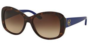 Ralph Lauren RL8144 500313 BROWN GRADIENTSHINY DARK HAVANA