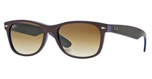 Ray-Ban RB2132 874/51 CRYSTAL BROWN GRADIENTTOP BROWN ON BLUE