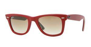 Ray-Ban RB2140 109151 CRYSTAL BROWN GRADIENTTOP RED ON TEXTURE TIPEDELIC