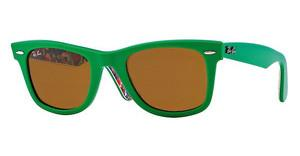 Ray-Ban RB2140 1140 CRYSTAL BROWNTOP GREEN ON TEXTURE SURF
