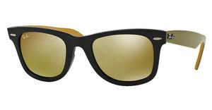 Ray-Ban RB2140 117393 LIGHT BROWN MIRROR GOLDBLACK