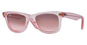 Ray-Ban RB2140 6057X3 PINK GRADIENT BROWN PHOTODEMI GLOSS PINK