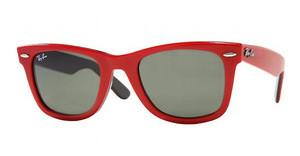 Ray-Ban RB2140 955 TOP RED ON BLA CRYSTAL GREEN