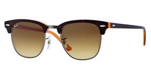 Ray-Ban RB3016 112685 BROWN GRADIENT DARK BROWNTOP DARK HAVANA ON ORANGE/GUNM
