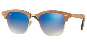 Ray-Ban RB3016M 11807Q GREY GRADIENT BROWN MIRROR BLSHINY GOLD