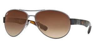 Ray-Ban RB3509 004/13 BROWN GRADIENTGUNMETAL