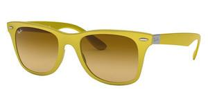 Ray-Ban RB4195 60852L YELLOW GRADIENT BROWNMETALLIC YELLOW