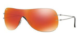 Ray-Ban RB8057 159/6Q ORANGE FLASHSHINY GREY