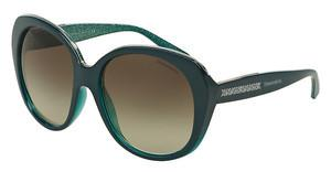 Tiffany TF4115 82063M GREEN GRADIENTPETROLEUM GREEN/GLITTER GREEN