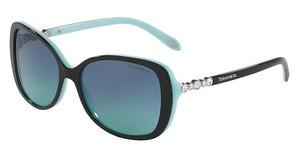 Tiffany TF4121B 80559S BLUE GRADIENTBLACK/BLUE
