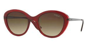 Vogue VO2870S 226913 BROWN GRADIENTTOP TR BORDEAUXTR PINK