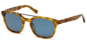 Web Eyewear WE0156 53V blauhavanna blond