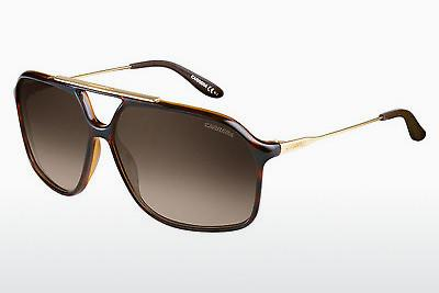 Lunettes de soleil Carrera CARRERA 81 0KS/HA - Or, Brunes, Havanna