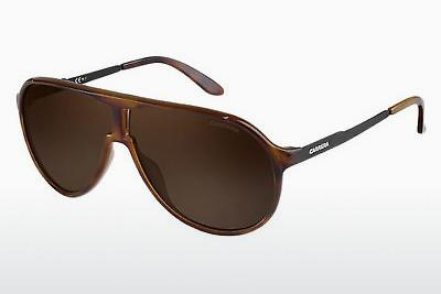 Lunettes de soleil Carrera NEW CHAMPION 8F8/SP - Brunes, Havanna