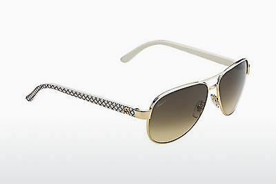 Lunettes de soleil Gucci GG 4239/S DZB/ED - Blanches, Or