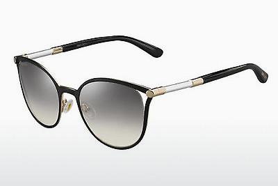 Lunettes de soleil Jimmy Choo NEIZA/S SAO/IC - Noires, Or