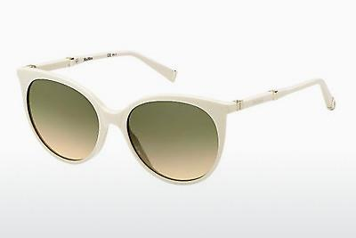 Lunettes de soleil Max Mara MM DESIGN III UC4/ED - Blanches, Or