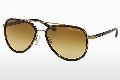 Lunettes de soleil Michael Kors PLAYA NORTE (MK5006 10342L) - Brunes, Havanna, Or