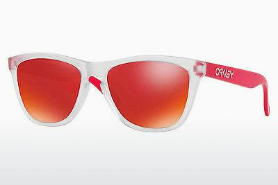 Lunettes de soleil Oakley FROGSKINS (OO9013 9013B3) - Transparentes, Blanches