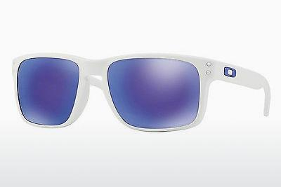 Lunettes de soleil Oakley HOLBROOK (OO9102 910205) - Blanches