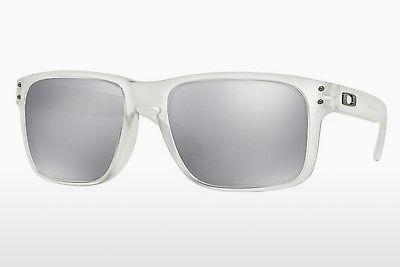 Lunettes de soleil Oakley HOLBROOK (OO9102 9102A2) - Blanches, Clear