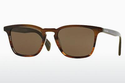 Lunettes de soleil Paul Smith SHAWBURY (PM8239SU 119273) - Vertes, Brunes, Havanna