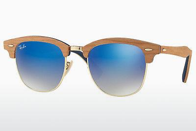 Lunettes de soleil Ray-Ban CLUBMASTER (M) (RB3016M 11807Q) - Or