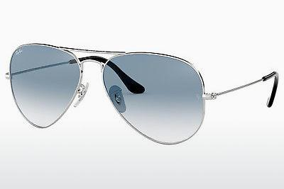 Lunettes de soleil Ray-Ban AVIATOR LARGE METAL (RB3025 003/3F) - Argent