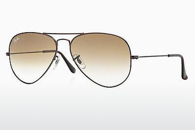 Lunettes de soleil Ray-Ban AVIATOR LARGE METAL (RB3025 014/51) - Brunes