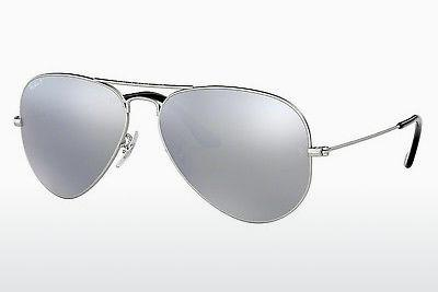 Lunettes de soleil Ray-Ban AVIATOR LARGE METAL (RB3025 019/W3) - Argent